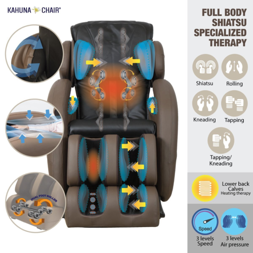 Shiatsu Medical Massage Chair With Heating Options
