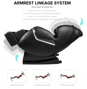 Armrest Linkage Real Relax Massage Chair Feature
